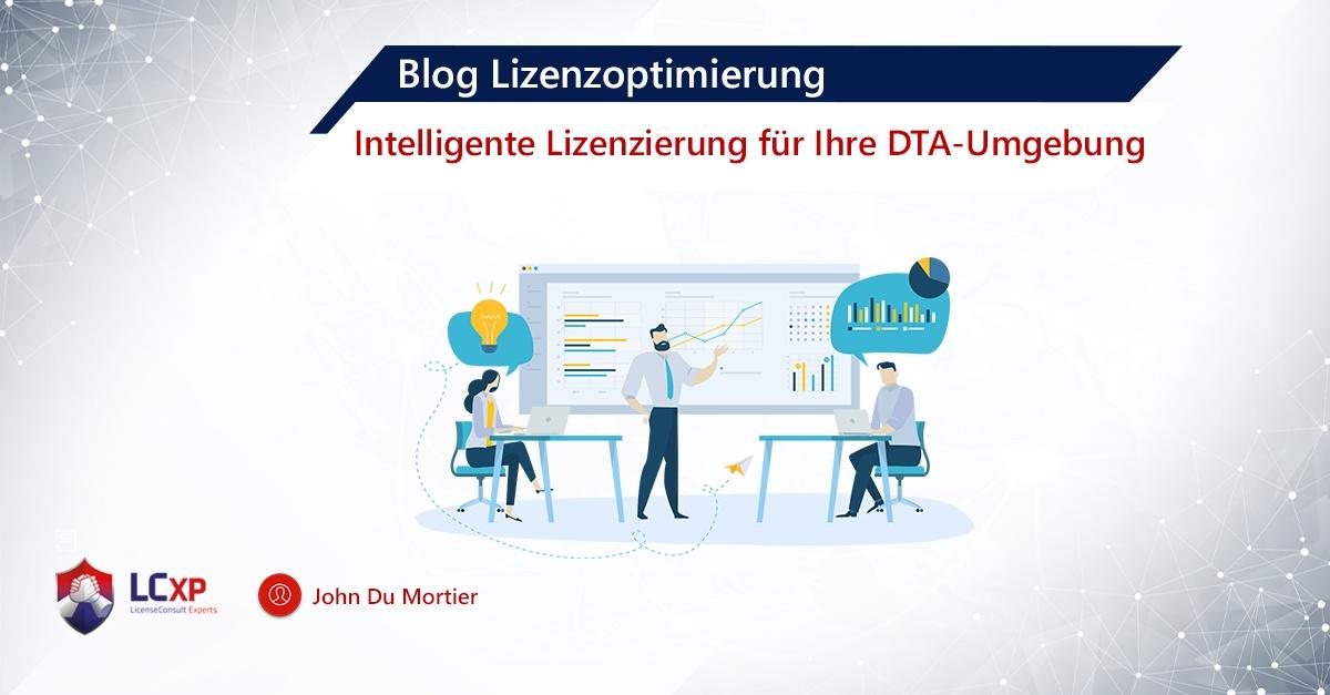 Blog John Lizenzierung DTA-Umgebung